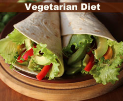 vegetarian diet example